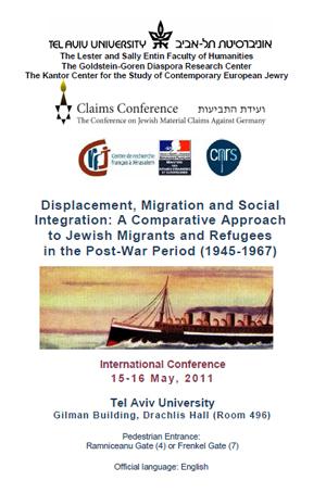 Jewish Post-War Migrants