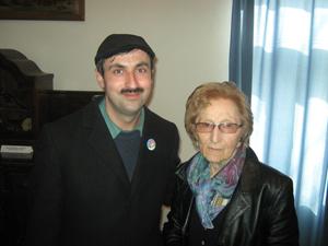 Hedi Fried and Tatomir Ion-Marius