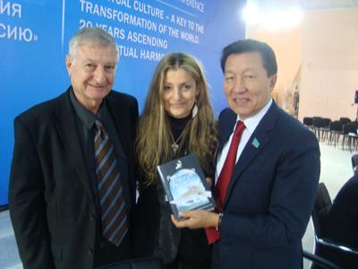 Ernesto Kahan and Susana Roberts in Astana