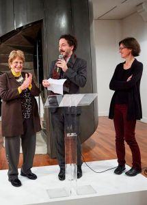 Ada Aharoni receives Prix du Temoignage